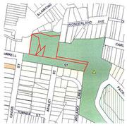 Tamarama Park - historic land transfer analysis and visual impact review