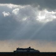 P&O boat Calais-bound