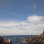 夏色の日本海。