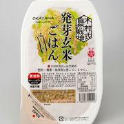 木村式自然栽培米朝日 「発芽玄米ごはん」  356円