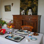 petit déjeuner chambre d'hôtes la Glacière Périgueux