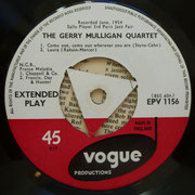 Gerry Mulligan - Paris Concert -Vogue EPV1156