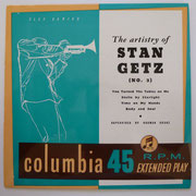 Stan Getz - The Artistry Of Stan Getz No.3 - Columbia SEB10063