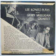 Lee Konitz plays with The Gerry Mulligan Quartet- Vogue EPV1120