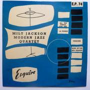 Milt Jackson Modern Jazz Quartet - Esquire EP 74