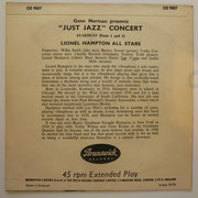 Lionel Hampton All Stars -Gene Norman presents 'Just Jazz' Concert - OE9007