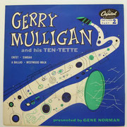Gerry Mulligan And His Ten-Tette - Decca EAP 2-439