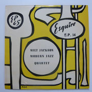 The Milt Jackson Quartet - Esquire EP 14