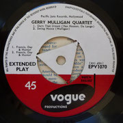 Gerry Mulligan Quartet - Vogue EPV1070