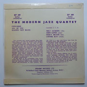 The Modern Jazz Quartet - Esquire EP 109
