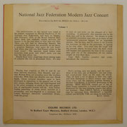 National Jazz Federation Modern Jazz Concert - Esquire EP41
