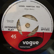 Lonel Hampton Trio - Vogue EPV1015