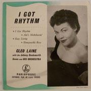 Cleo Laine - I Got Rhythm - GEP8613