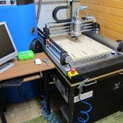CNC Fräsmaschinenaufbau