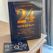 """In Folge #88 des Männerquatsch Podcast, sprechen wir über den Rum Adventskalender """"24 Days of Rum"""""""