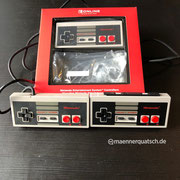 Nintendo Entertainment System (NES) Controller für die Switch. Wir sprechen drüber in Männerquatsch Podcast Folge #45 (VR auf der Switch, Herr Der Ringe Serie, Lego mit AR Funktionen)