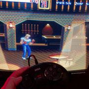 Das Retro-Bit Official SEGA Mega Drive 6-button Arcade Control Pad in Schwarz. Wir sprechen drüber in Männerquatsch Podcast Folge #46 (Google Stadia, GDC 2019, Zukunft der Gamescom, Nindies Showcase)