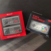 Nintendo Entertainment System (NES) Controller für die Switch. Und Super Nintendo (SNES) Controller für die Wii. Wir sprechen drüber in Männerquatsch Podcast Folge #45 (VR auf der Switch, Herr Der Ringe Serie, Lego mit AR Funktionen)