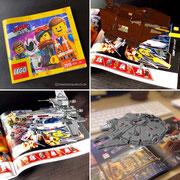 Lego Katalog mit Augmented Reality Features. Wir sprechen drüber in Männerquatsch Podcast Folge #45 (VR auf der Switch, Herr Der Ringe Serie, Lego mit AR Funktionen)