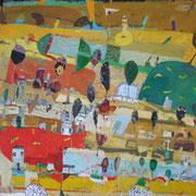 (2006) Öl auf Leinwand  (135cm x185 cm )