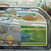 Der Acker - (2011) Öl auf Leinwand  (135cm x185 cm )