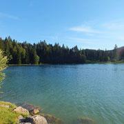 Lac de Genin - gite de Tres Bayard location de vacances et week end - Saint Claude - Jura
