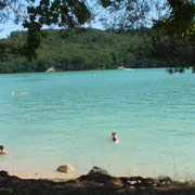 Lac de Vouglan - gite de Tres Bayard location de vacances et week end - Saint Claude - Jura