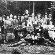 Der Waldverein am Hohen Bogen 1924