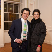 Enrico Pellegrini and Vice Consul Lucia Pasqualini