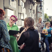 KuLe Booklaunch Festival Dedications, Kunsthaus KuLe, 2016