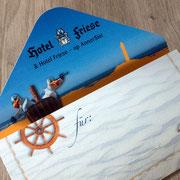 Geschenkgutschein Hotel Friese, Norderney