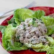 "homemade healthy ""no mayo"" tuna salad - by homemade nutrition"