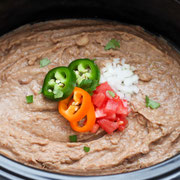 Slow Cooker Vegan Refried Beans Recipe