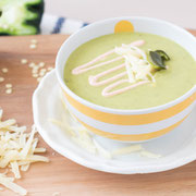 creamy roasted poblano white cheddar cheese soup recipe
