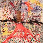 letztes Leben ( Papier, Tusche, Feder ) 59,4 x 42 Leipzig Thomas Bolte