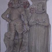 Epitaphien Restaurierung in der Margaretenkirche in Aldingen Remseck