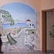 Illusionsmalerei griechisches Bild