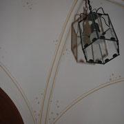 Deckenmalerei Gewölbemalerei Kreuzgewölbe Sonne