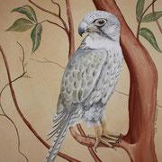 Wandmalerei im Detail