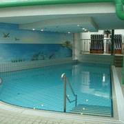 Wandmalerei Schwimmbad Regina Maris in Norden