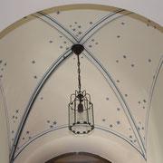 Deckenmalerei Gewölbemalerei Kreuzgewölbe Sterne