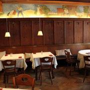Wandmalerei - Restaurierung  Ravensburg im Gasthaus Engel