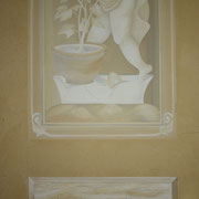 Graumalerei - Scheinarchitektur In vino veritas
