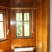 Bierlasur / Biermalerei - Restaurierung in einer Nische