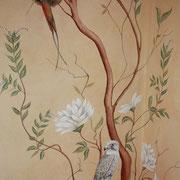 klassische Wandmalerei