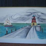 Nordische Wandmalerei in Stade