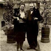 Ehepaar Karl Hermann und Resi Ganz