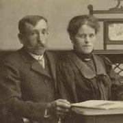 Erstes Wirtsehepaar Wilhelm und Karolina Krotz, 1910