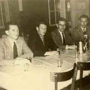 Sohn Wilhelm mit Gästen, 1948