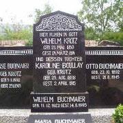 Grabstätte Familie Krotz-Buchmaier